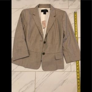 Ann Taylor Petite Women's Beige Jacket Size 12P